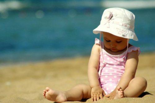 что нужно взять ребенку на море