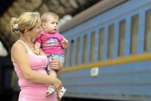 детский билет на поезд до какого возраста