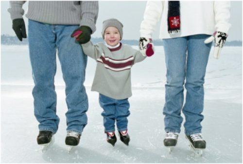 Значение катания на коньках для детей