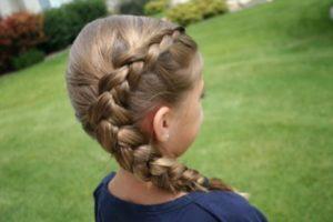 Как заплести колосок ребенку: пошаговая инструкция
