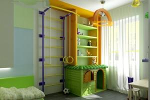 детский спортивный уголок для дома