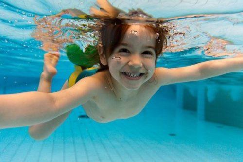 плавание для детей от 3 лет