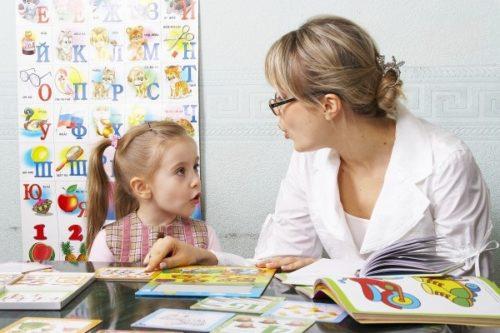 консультация логопеда для родителей в Детском саду