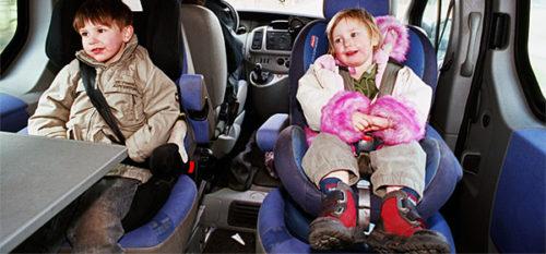 Детские кресла до какого возраста по пдд
