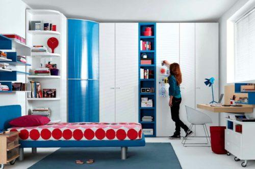 Дизайн комнаты для девочки-подростка: в современном стиле