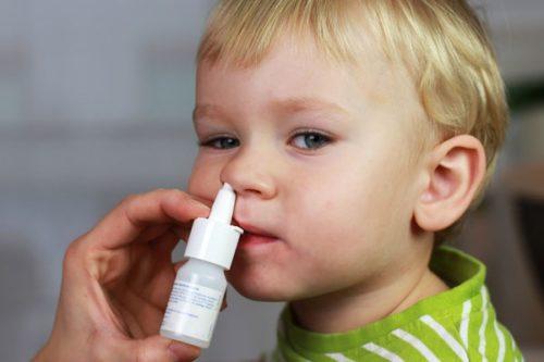Капли лечащие насморк у детей