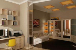 Дизайн комнаты для мальчика-подростка: в современном стиле