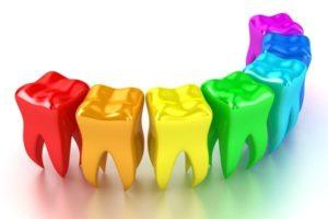 Цветные пломбы для детей