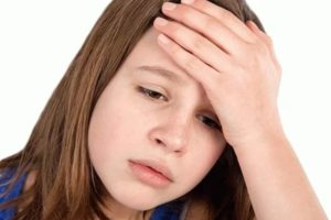 У ребенка часто болит голова