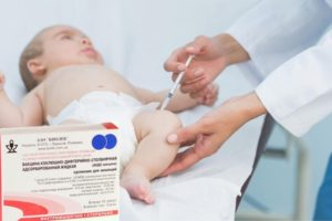 Прививка АКДС: побочные эффекты у детей