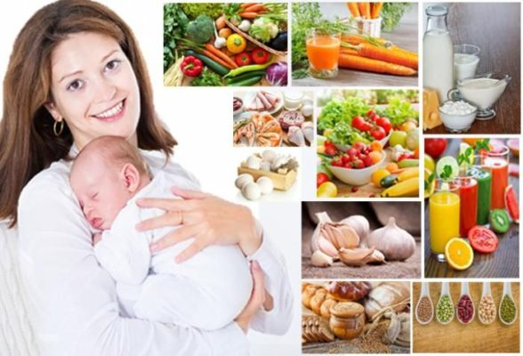 Питание при грудном вскармливании по месяцам