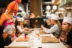 Детская кулинарная школа выходного дня в Food Market 21