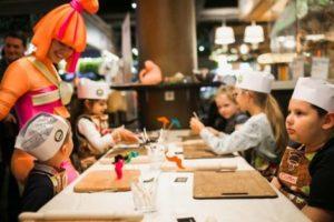 Детская кулинарная школа выходного дня