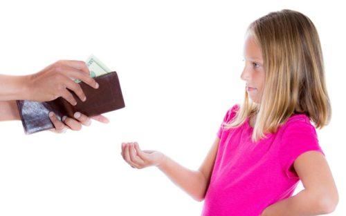Давайте детям деньги на карманные расходы