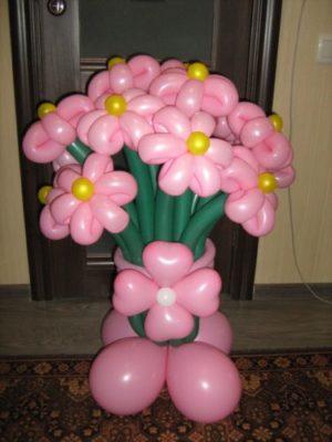 Цветы из «шариков-колбасок».jpg
