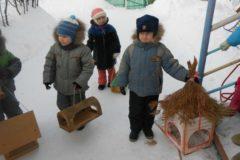 Кормушка для птиц своими руками в детский сад