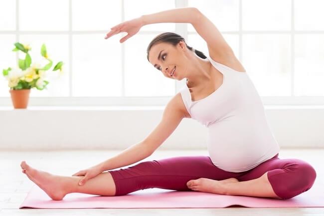Гимнастика для беременных для легких родов Здоровая беременность