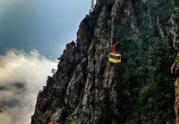 Канатная дорога на вершину Ай-Петри и пещера Трёхглазка