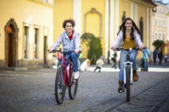 Правила езды на велосипеде по проезжей части