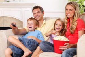 Список лучших фильмов для семейного просмотра