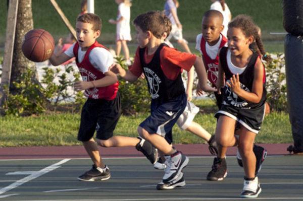 Упрощённые правила игры в детский баскетбол