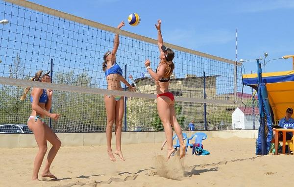 Про пляжный волейбол