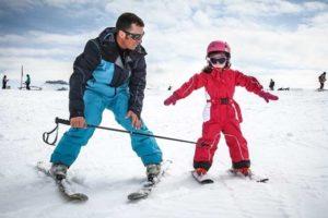 Как научиться кататься на лыжах: для начинающих