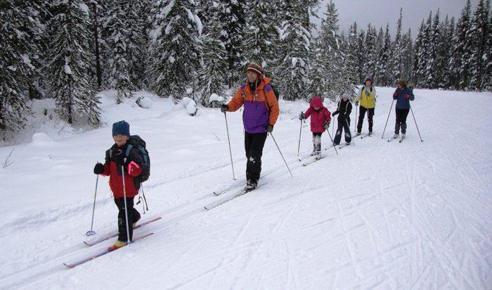 О воздействии любительских занятий лыжами на организм
