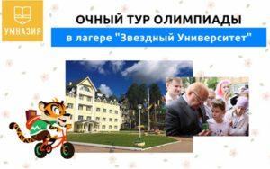 Финальный тур олимпиады «Умназия» для младших школьников