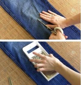 Как сделать потертости