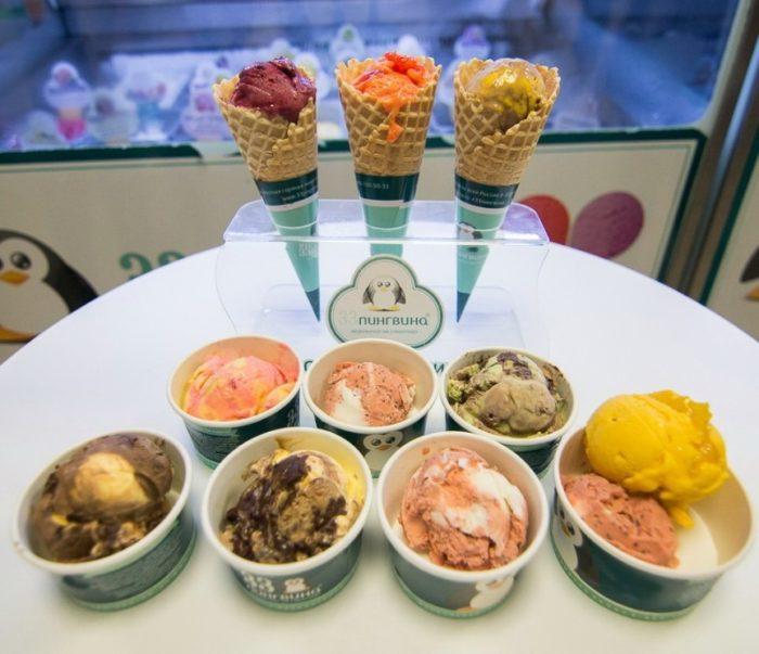 Кафе-мороженое «33 пингвина»
