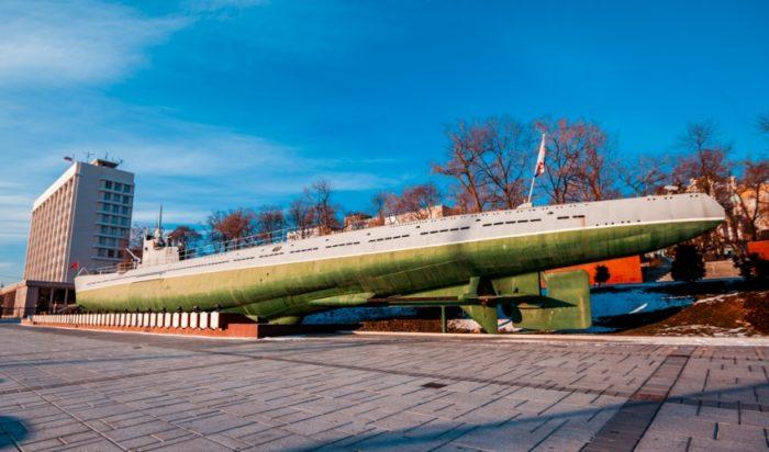 Легендарная С-56 во Владивостоке
