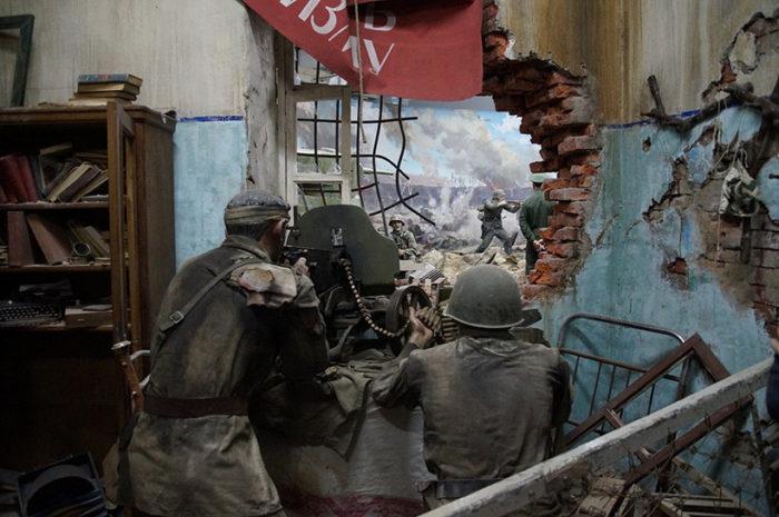 Музей – трёхмерная панорама «Герои Брестской крепости»