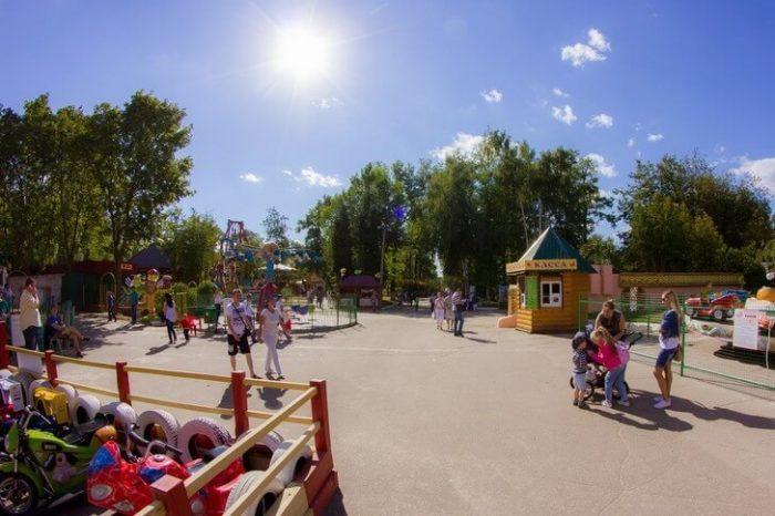 Парк Лакреевского леса