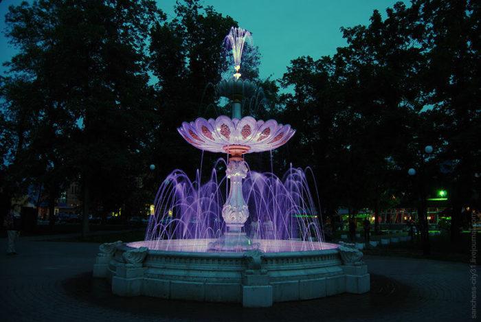 Пасхальный фонтан