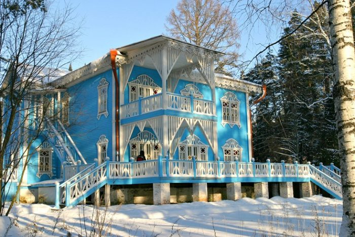 Резиденция Российской Снегурочки в Костроме