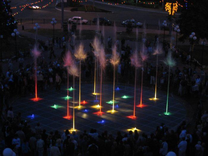 Светомузыкальный фонтан «Торнадо»