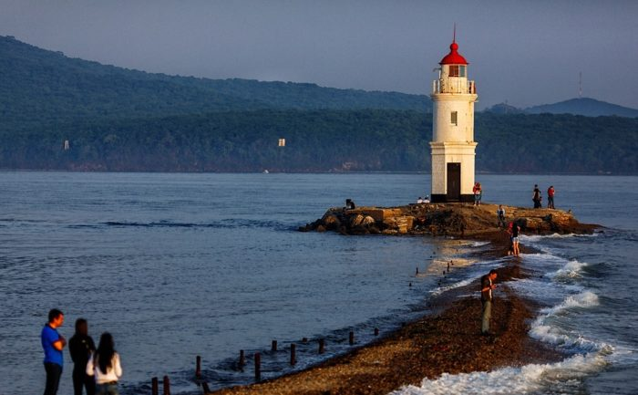 Токаревский маяк во Владивостоке