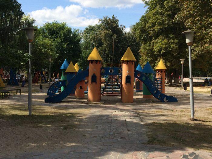 Парк ДК Железнодорожников