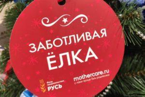 благотворительная акция «Заботливая Ёлка»