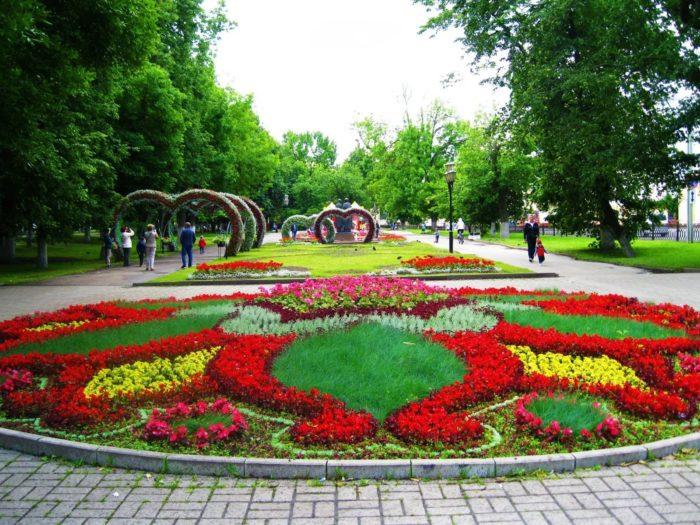 Пешеходные маршруты и парки Ярославля