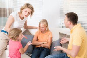 Типы детско-родительских отношений