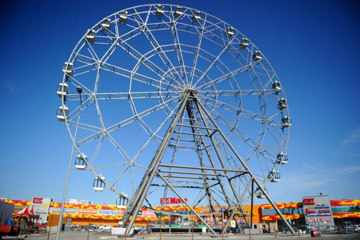 55-метровое колесо обозрения