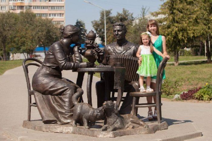 Памятники и скульптуры в Туле, интересные для детей