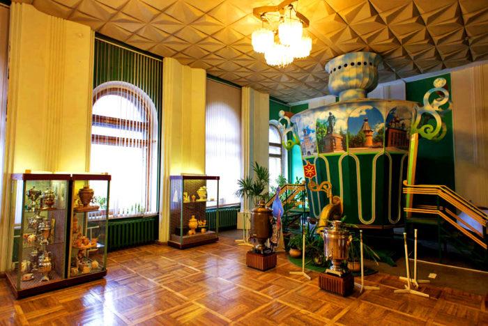 Тульский музей самоваров