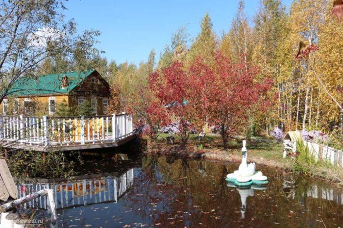 Культурно-туристический парк «Русская деревня»