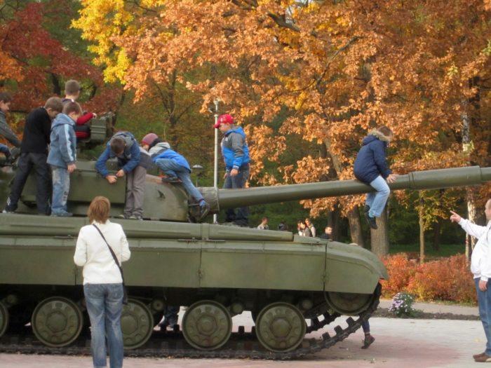 Парк Победы имени маршала Жукова