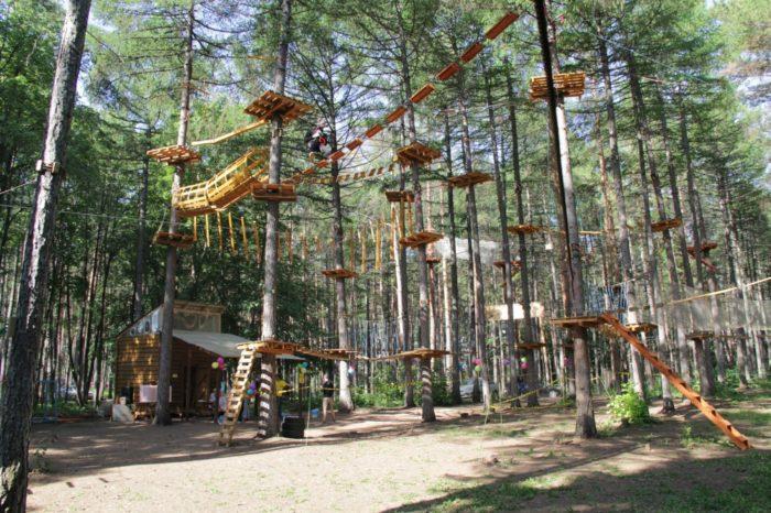 Верёвочный «Спайдер парк»