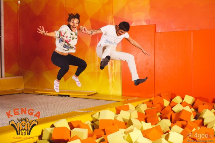 Батутный центр «Kenga Park Jumps»