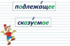 Что такое подлежащее и сказуемое в русском языке